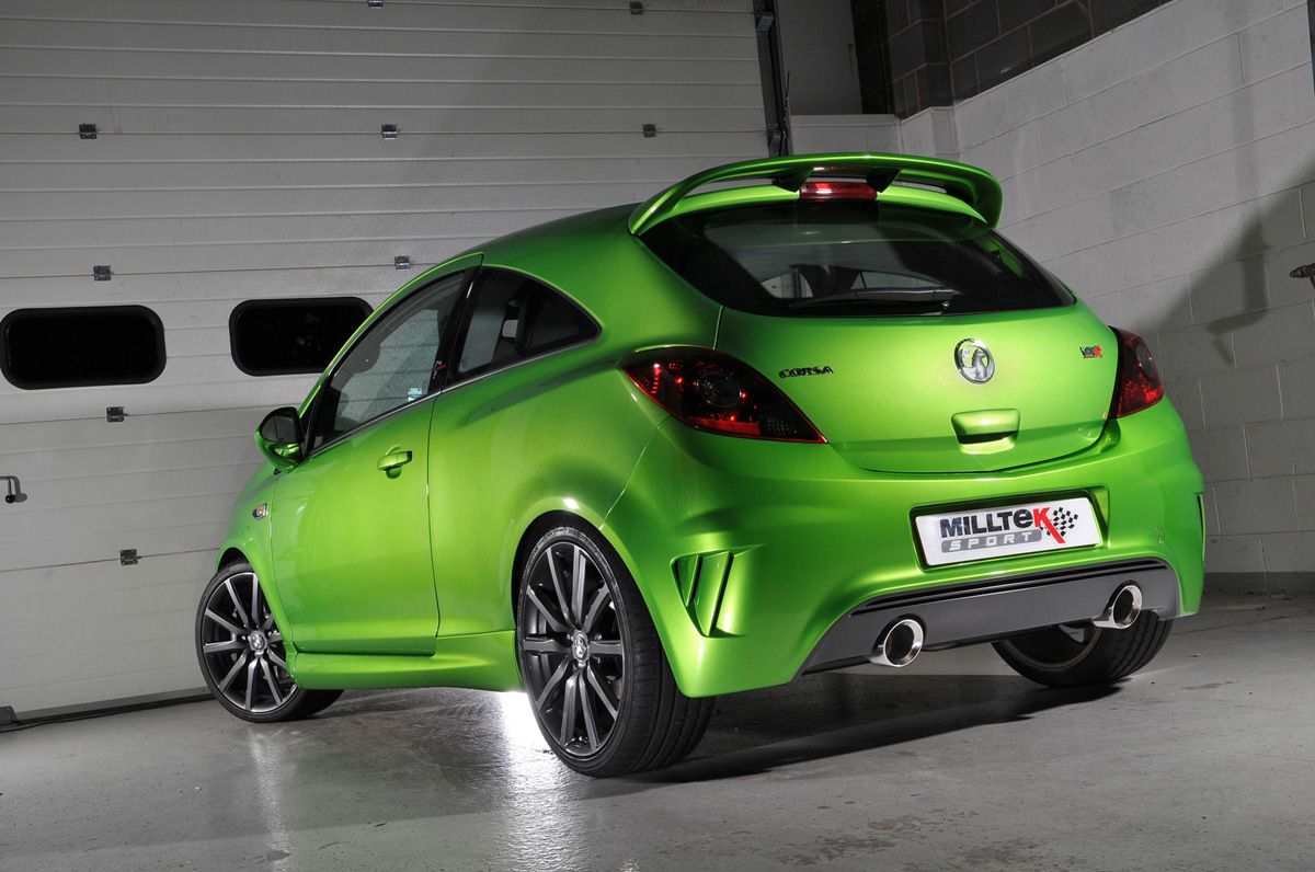 Corsa VXR N�rburgring with 70mm Miltek Exhaust