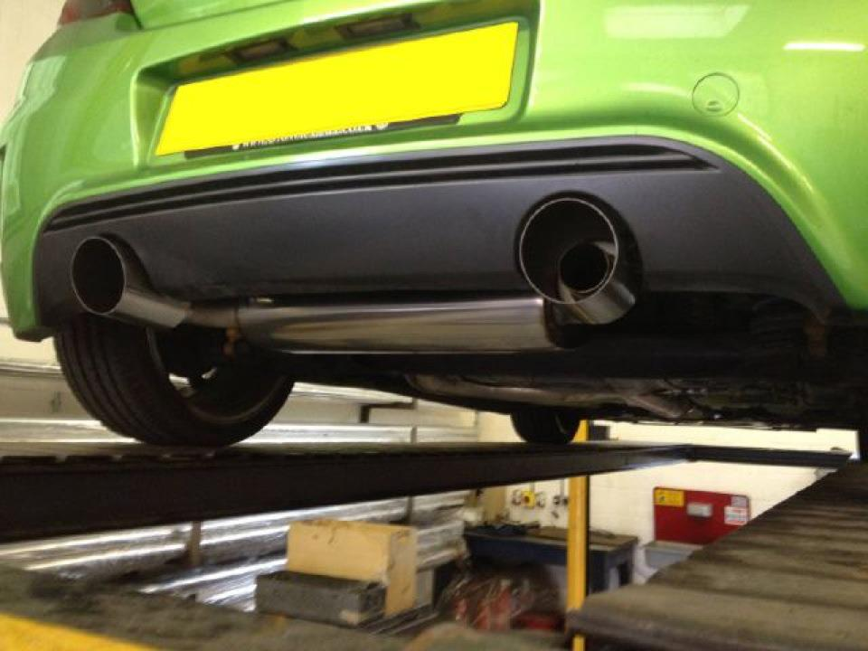 Corsa VXR N�rburgring 4  inch Slash Cut Tail Trims