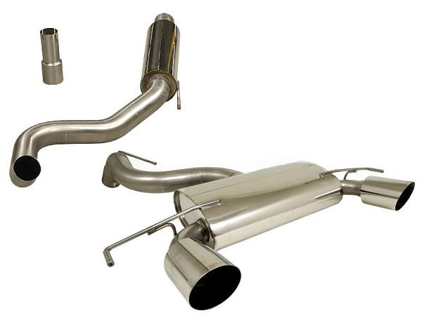 Corsa VXR N�rburgring 76mm Cat Back Exhaust System