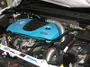 Astra J VXR Uprated Full Height Intercooler - Engine Bay