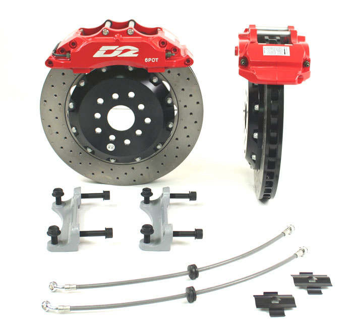 D2 6 356mm Pot Brake Kit