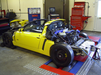 VX220 Turbo Transplant on the rollers